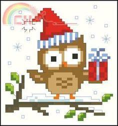 Vervaco PN-0147603 Kruidenzakje uil conheceu kerstmuts.jpg