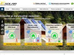 ESOLAR | Fotovoltaické ostrovné systémy