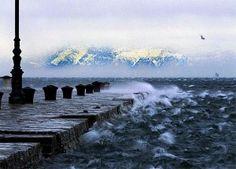 bora sul mare