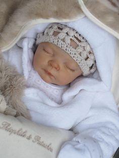 Ava, Reborn Baby Doll by Adrie Stoete