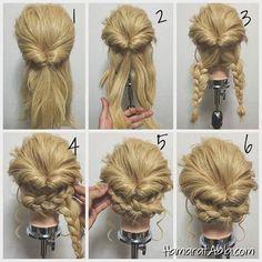 Birbirinden şık davet saçını ve yapılışlarını sizinle paylaşıyoruz. Adım adım kolay anlatımlı resimler sayesinde bu havalı ve şık saç modellerini siz de yapabilirsiniz.