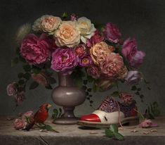 Christian Louboutin's SS14 Collection Photographed As Impressionist Art by Peter Lippmann | Yatzer