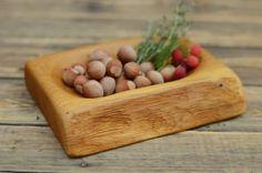 Wooden+small+bowl,+Wooden+plate,+Solid+wood+pannier,+Kitchen+decor,+Oak+wood+bowl,+kitchen+accessories,+handmade+gift