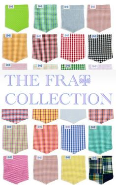 """I am a rep for the frat collection!! Use coupon code """"claire"""" at check out and receive 10% OFF!!!"""