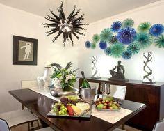 55 nápadov ako taniermi ozdobiť steny.
