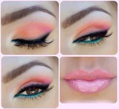 Some ideas for Eye Makeup when styling models for photo shoots.  Visit http://www.SwimwearWebsites.com for Bikini News, Photos, Videos, and more