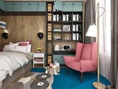 Гармоничное сочетание цветов и все это для маленькой девочки, воспитания стиля с малых лет-это важно #YNwork#design#interior#rugcompany#kidsroom