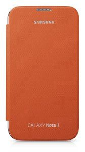 Amazon.com: Samsung Galaxy Note 2 Flip Cover Case (Orange): Cell Phones & Accessories