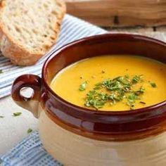 Σούπες Vegetable Soup Ingredients, Cheeseburger Chowder, Thai Red Curry, Potatoes, Stuffed Peppers, Vegetables, Ethnic Recipes, Smooth, Food