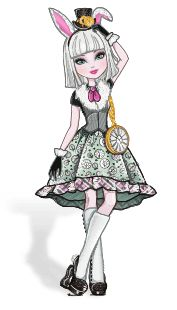 Bunny Blanc ( Filha do Coelho Branco)