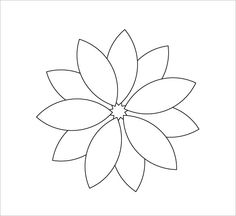 Print and color a petal for every hour that you manage pull free, then color in the middle if you manage the whole day. Free Paper Flower Templates, Flower Petal Template, Templates Printable Free, Felt Flowers Patterns, Fabric Flowers, Paper Flowers, Free Stencils, Flower Petals, Handmade Flowers