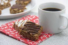 Gingerbread PB Bars Gluten free and vegan friendly