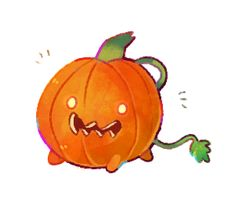 Pumpkin Dog.