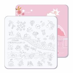 CICI&SISI Nail Stamper Plate Nails Art Image Stamp Stamping Plates Manicure Template Pedicure Kit Tools Children Park 01-04