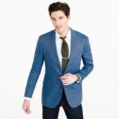 8c21ed8ae614 Ludlow Italian linen blazer in brilliant blue. Linen BlazerLinen SuitWedding  MenWedding ...
