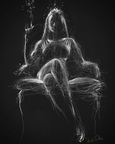 Bringt mich dazu, schwarzes Papier zu kaufen – Sarah Bjorn – Join in the world of pin Pencil Art Drawings, Drawing Sketches, Black Paper Drawing, Scribble Art, Smoke Art, Generative Art, Art For Art Sake, Erotic Art, Female Art