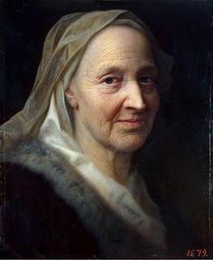 """Portrait of an old woman,"" c. 1720, Balthasar Denner (1685 - 1749).  Captures the essence of the woman; very impressive and moving."