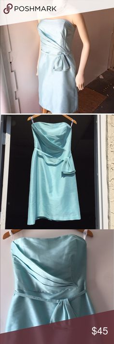 Cute dress Cute light blue dress. Perfect for a formal occasion. Mint condition Alfred Sung  Dresses Strapless