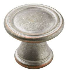 Round Knob Vasari - BP24009WNC | Knob | Cabinet Hardware | Amerock.com