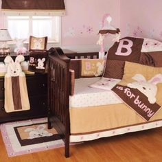 Kidsline B is for Bunny Crib Bedding Collection