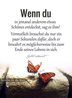 Besonders, wenn es das Herz aus den Rhythmus und bis zum Anschlag pochen lässt,… Especially when it makes the heart beat out of the rhythm and all the way, so you get really scared of it. German Quotes, True Words, Quotations, Life Quotes, Told You So, Inspirational Quotes, Wisdom, Positivity, Lettering