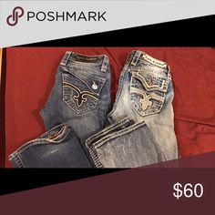 Rock revival jeans Size 25, well taken care of! Rock Revival Jeans Boot Cut