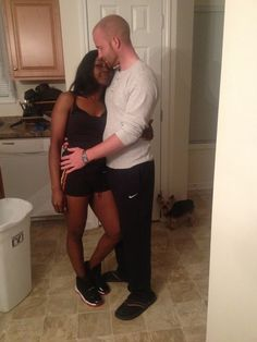 Very cute interracial couple #love #wmbw #bwwm
