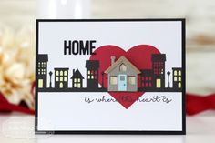 Home Is Where The Heart Is by Keia Shipp-Smith Taylored expressions card