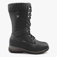 Women's Waterproof Wool Lined Boots Storm in Black – Comfy Moda Snow Boots, Winter Boots, Shoe Box, Looking For Women, Combat Boots, Comfy, Wool, Stylish, Black