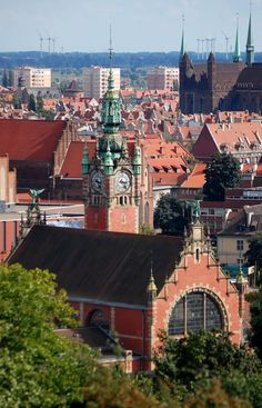 Gdansk, widok z Góry Gradowej. fot. Tomek Szejnoch
