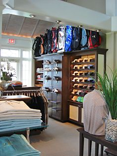 Libby Langdon Interiors - Interior Design of the Atlantic Golf Shop in Bridgehampton, New York