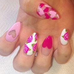 Best Valentine's Day Nails - 48 Valentine's Day Nail Designs - Fav Nail Art