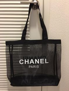 Chanel beauty VIP gift mesh tote 2016 #CHANEL #TotesShoppers
