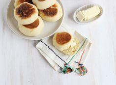 Homemade English Muffins - A Beautiful Mess