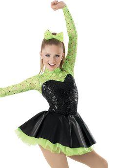 Tap Weissman™ | Sequin Lace Satin Skirt Party Dress