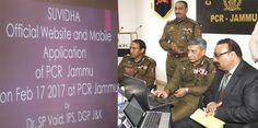 Vaid launches website 'Suvidha JK Police', citizens to getupdates on policing Stresses...
