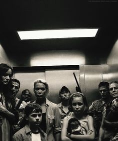 Cast from the first season....all together at the CDC       #TWD