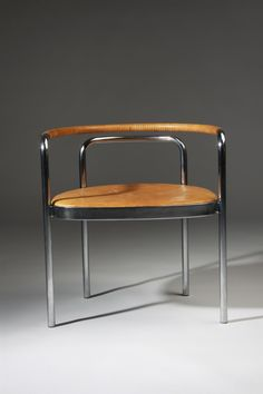 Armchair, PK12. Designed by Poul Kjaerholm for Kold Christensen, Denmark. 1964.
