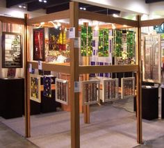 Art craft display ideas on pinterest stained glass art for American craft council show