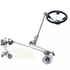 ATV Tuning Parts Rear Axle Steering Brake Assembly Direction For 168 Karting