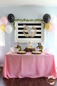 Bambi Inspired Birthday Party on Kara's Party Ideas | KarasPartyIdeas.com (24)