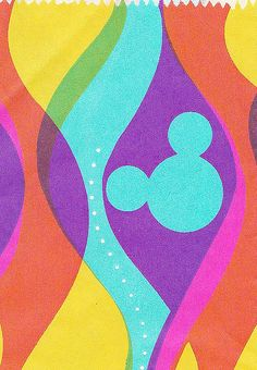 Disneyland Bag Detail 1960s by hmdavid, via Flickr