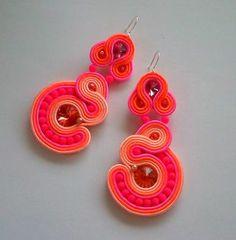 Soutache Jewelry, Washer Necklace, Crochet Earrings, Jewels, Handmade, Inspiration, Fashion, Stud Earrings, Biblical Inspiration