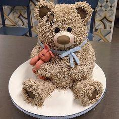 Teddy Bear Cake                                                                                                                                                                                 More