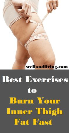 9 Exercises That Will Burn Your Inner Thigh Fat Fast In 2 Weeks Are you looking to have a toned, sculpted and attractive thigh? Engaging in these 9 thigh toning exercises will burn your inner thigh fat fast in 2 weeks Thigh Toning Exercises, Toning Workouts, Butt Workout, Easy Workouts, At Home Workouts, Leg Toning, Stomach Exercises, Fitness Exercises, Senior Fitness