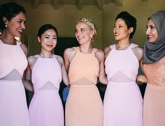 Orange & Pink Palm Springs Wedding - Inspired By This
