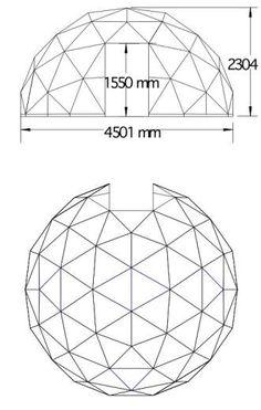4.5m diameter GD27 dome