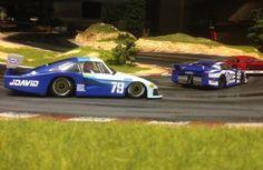Porsche 935/78 'Moby Dick' Jdavid - Le Mans 24Hrs 1982 sideways slot car