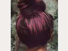 Purple Hair ~ Rainbow Hair Trend
