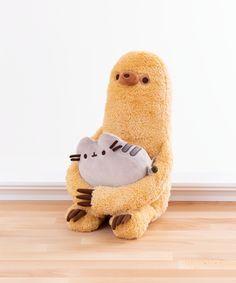Pusheen Sloth Plush - My site Cute Stuffed Animals, Dinosaur Stuffed Animal, Pusheen Stuffed Animal, Pusheen Shop, Pusheen Gifts, Pusheen Toys, Pusheen Cat Plush, Cute Plush, Cute Toys
